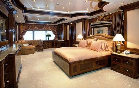 Superyacht APOISE interior design luxury