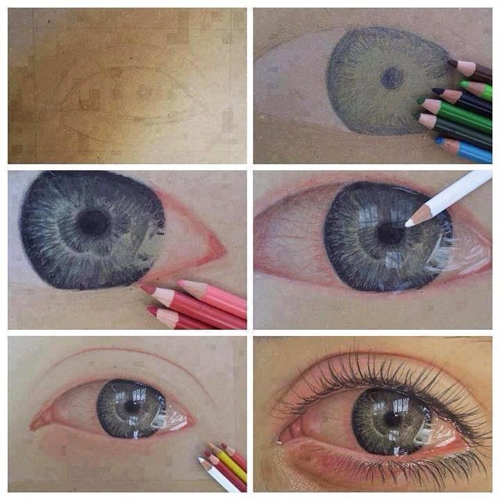 How to Draw a Realistic Eye Crying How to Draw an Eye Cry Watery